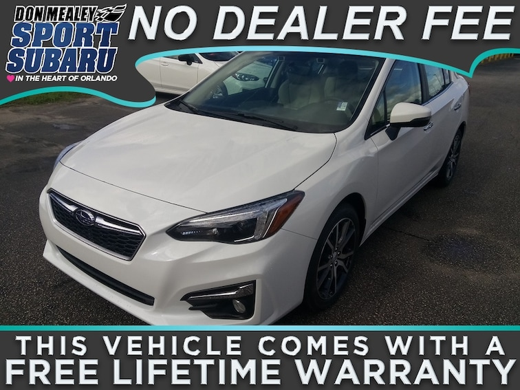 New 2019 Subaru Impreza 2.0i Limited Sedan at Sport Subaru in Orlando FL