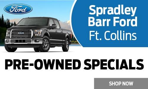 Spradley Barr Ford >> Used Vehicle Specials Spradley Barr Ford Ft Collins