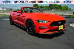 New 2018 Ford Mustang GT Premium Convertible in Fort Collins, CO