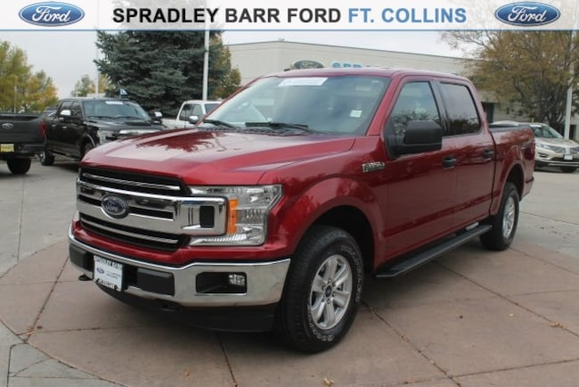 Certified pre-owned 2018 Ford F-150 XLT Truck for sale in Fort Collins, CO
