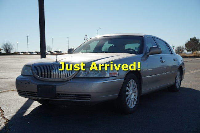 Used 2003 Lincoln Town Car For Sale At Spradley Ford Lincoln Inc