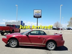 Used Cars  2002 Ford Mustang Convertible For Sale in Pueblo CO