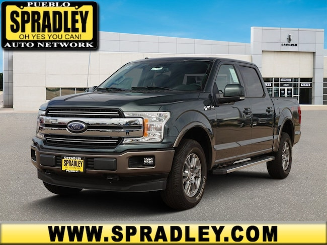New 2018 Ford F-150 Lariat Truck SuperCrew Cab For Sale in Pueblo, CO