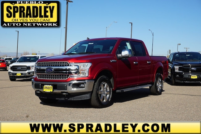 New 2019 Ford F-150 Lariat Truck SuperCrew Cab For Sale in Pueblo, CO