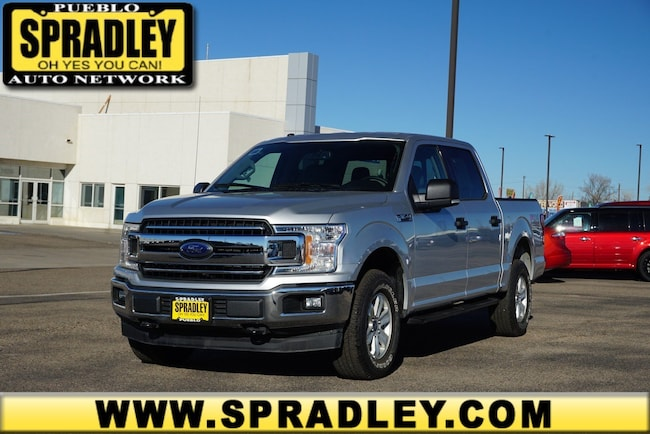 New 2018 Ford F-150 XLT Truck SuperCrew Cab For Sale in Pueblo, CO