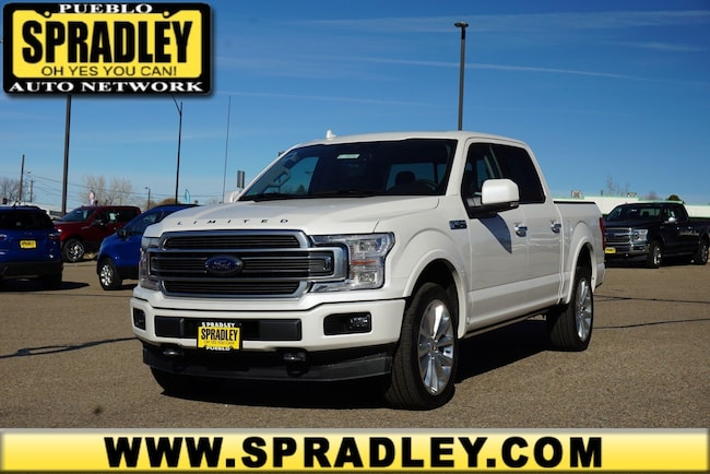 New 2019 Ford F-150 Limited Truck SuperCrew Cab For Sale in Pueblo, CO