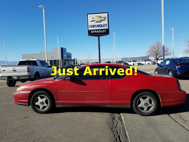 Used 2004 Chevrolet Monte Carlo LS Coupe For Sale in Pueblo, CO