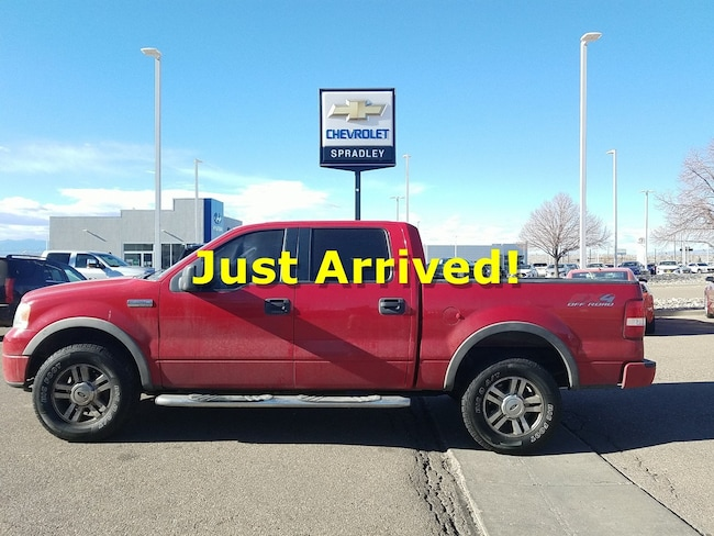 Used 2006 Ford F-150 SuperCrew Truck SuperCrew Cab For Sale in Pueblo, CO