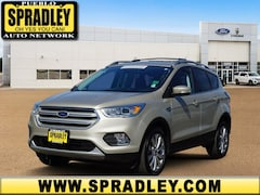 Certified Pre- Owned Cars  2018 Ford Escape Titanium SUV For Sale in Pueblo CO