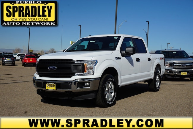 New 2019 Ford F-150 XL Truck SuperCrew Cab For Sale in Pueblo, CO