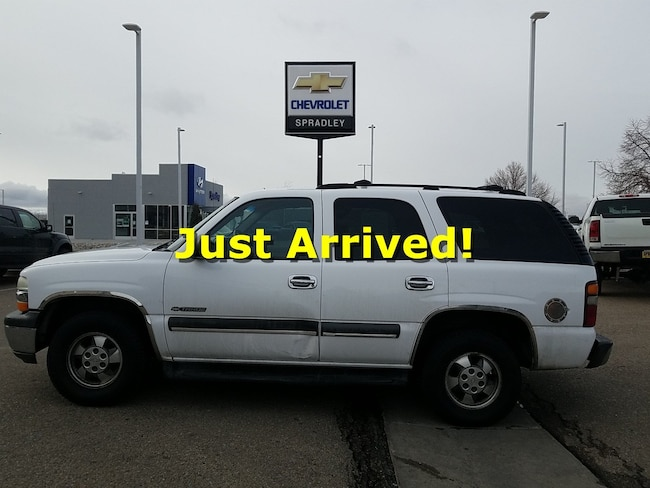 Used 2002 Chevrolet Tahoe SUV For Sale in Pueblo, CO