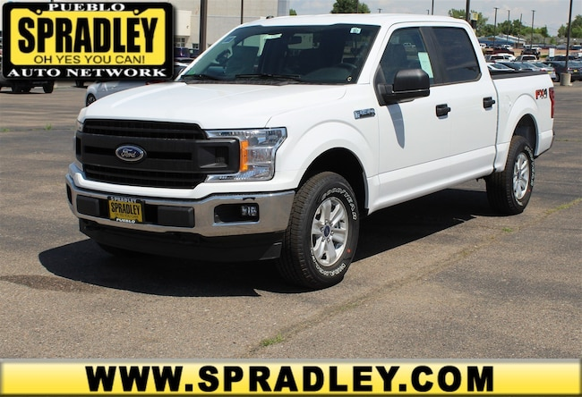 New 2018 Ford F-150 XL Truck SuperCrew Cab For Sale in Pueblo, CO