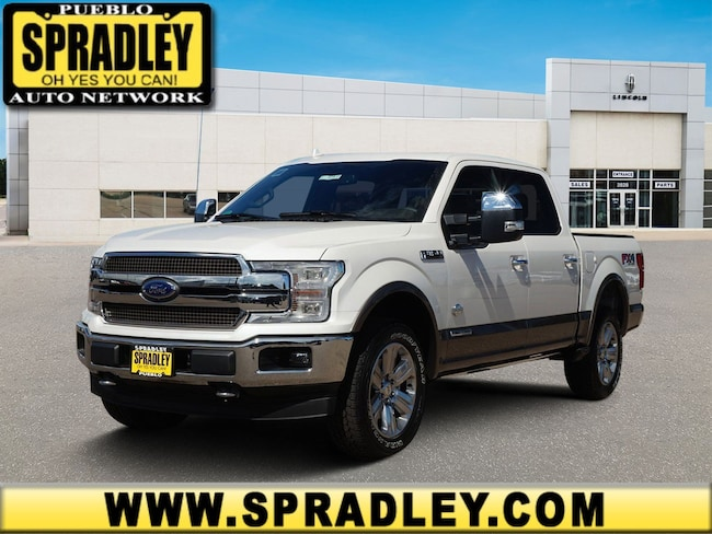 New 2018 Ford F-150 King Ranch Truck SuperCrew Cab For Sale in Pueblo, CO