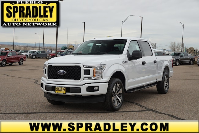 New 2019 Ford F-150 STX Truck SuperCrew Cab For Sale in Pueblo, CO