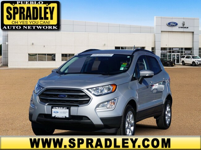 Certified 2018 Ford EcoSport SE SUV For Sale in Pueblo, CO