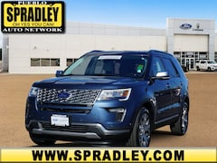 Certified Pre- Owned Cars  2018 Ford Explorer Platinum SUV For Sale in Pueblo CO