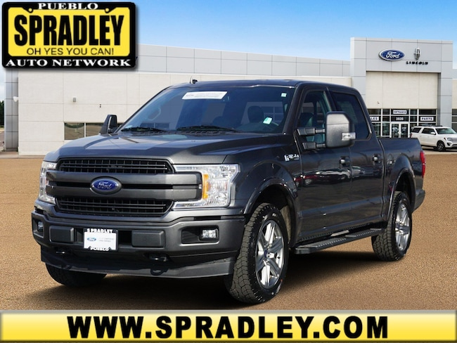 Certified 2018 Ford F-150 Truck SuperCrew Cab For Sale in Pueblo, CO