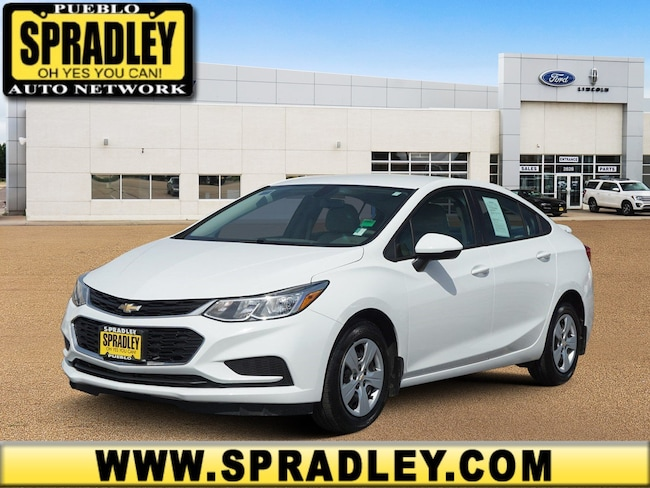 Used 2018 Chevrolet Cruze LS Auto Sedan For Sale in Pueblo, CO