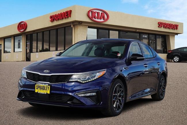 New 2019 Kia Optima SX Turbo Sedan For Sale in Pueblo, CO