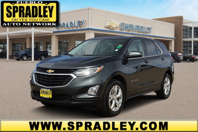 Used 2018 Chevrolet Equinox LT w/2LT SUV For Sale in Pueblo, CO