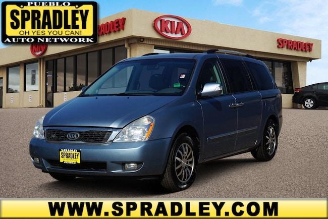 Used 2012 Kia Sedona EX Van For Sale in Pueblo, CO