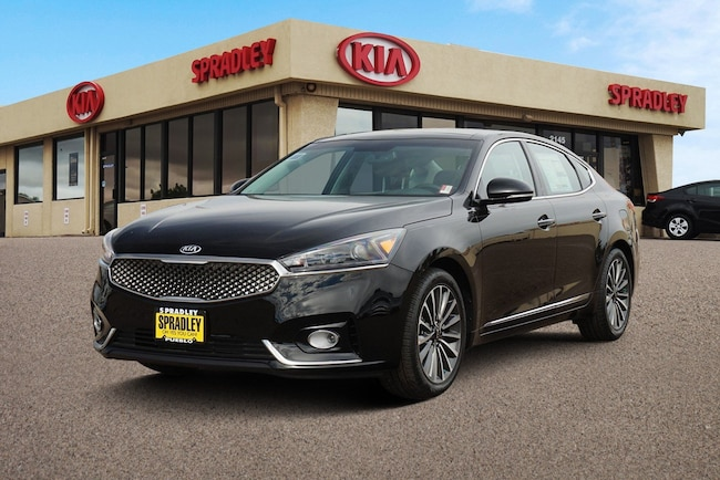 New 2018 Kia Cadenza Premium Sedan For Sale in Pueblo, CO