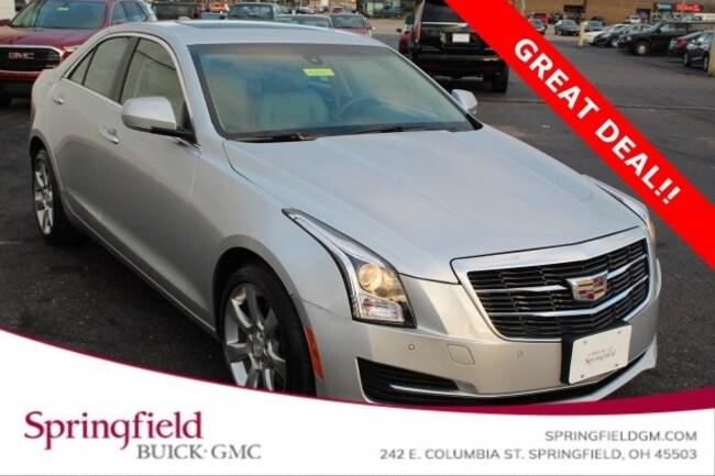 Used 2015 Cadillac Ats 2 0l Turbo Luxury Sedan For Sale Kings