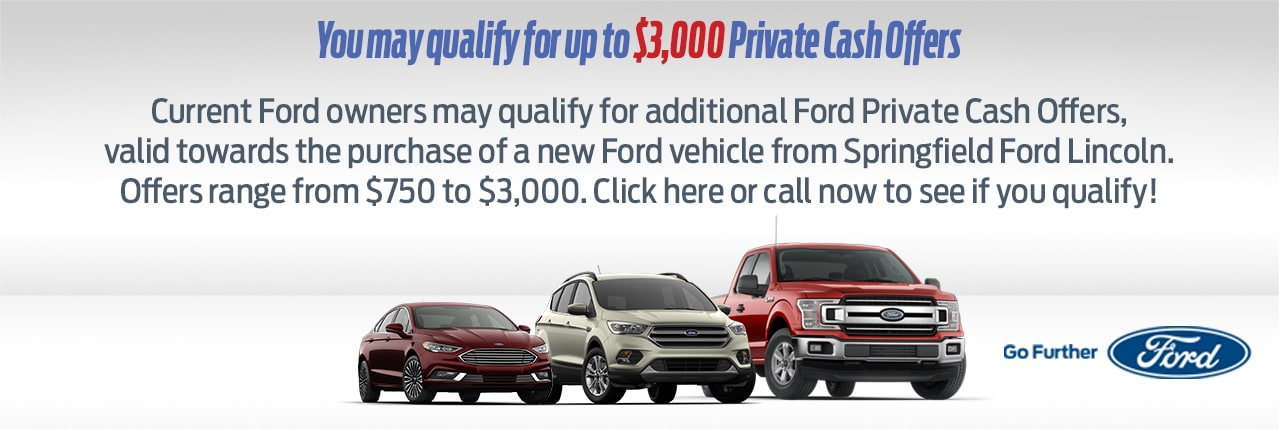 Ford Special Offer In Springfield Near Philadelphia