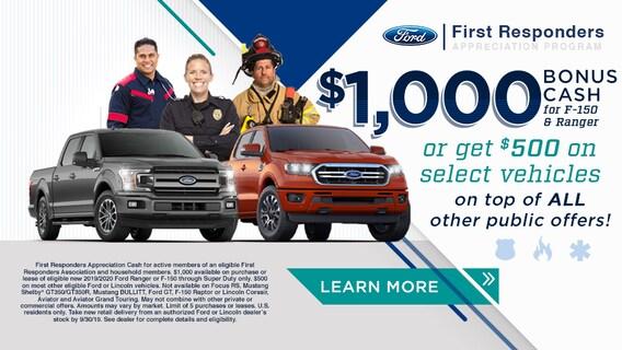 Ford First Responder >> Ford First Responder Appreciation Program Near Philadelphia
