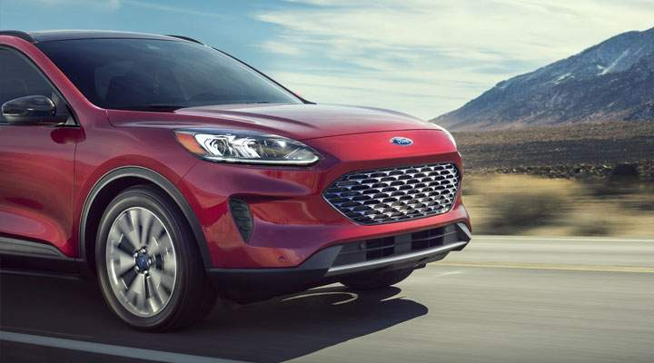2020 Ford Escape has the Right Amenities
