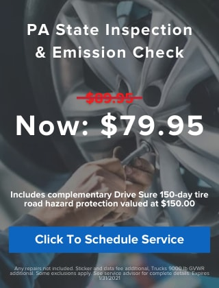 Inspection & Emission Check