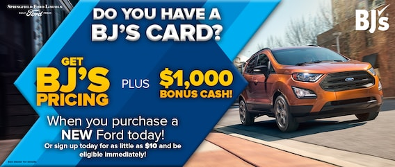 Bj Wholesale Promo Springfield Ford