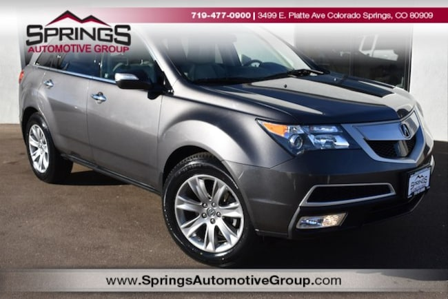 2011 Acura MDX MDX with Advance Package SUV