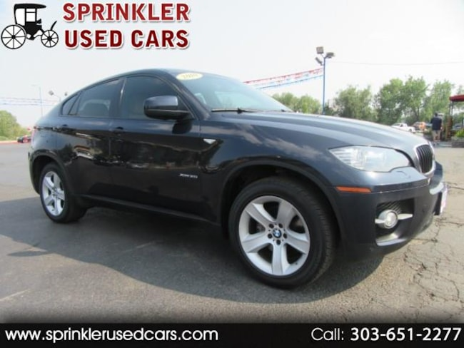 2010 BMW X6 xDrive35i Sports Activity Coupe