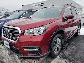 New 2019 Subaru Ascent Premium 7-Passenger SUV 4S4WMAFD6K3431065 for sale in Brockport, NY at Spurr Subaru
