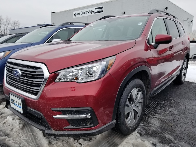 New 2019 Subaru Ascent Premium 7-Passenger SUV for sale in Brockport, NY at Spurr Subaru