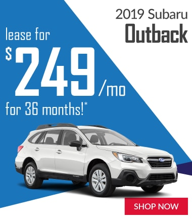2019 Outback Offer