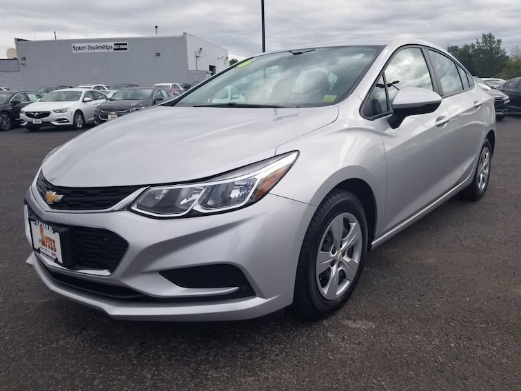 Used 2016 Chevrolet Cruze LS Auto Sedan for sale in Brockport, NY at Spurr Subaru