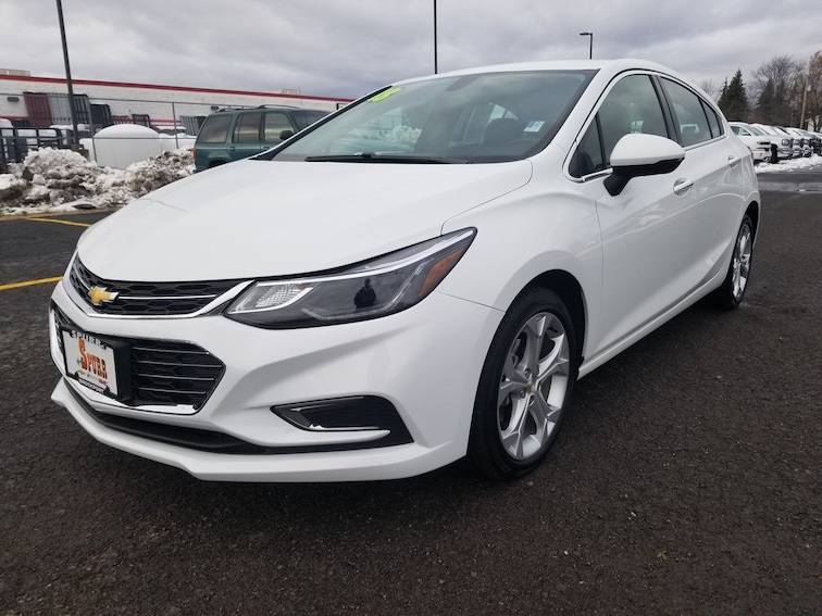 Used 2018 Chevrolet Cruze Premier Auto Hatchback for sale in Brockport, NY at Spurr Subaru