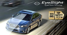Learn about the Subaru Legacy EyeSight Technology