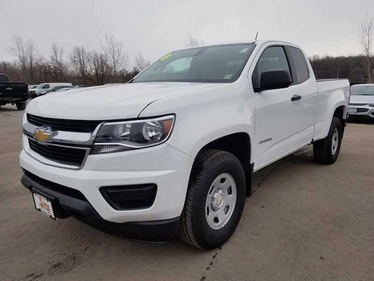 Used 2018 Chevrolet Colorado WT Truck Extended Cab for sale in Brockport, NY at Spurr Subaru