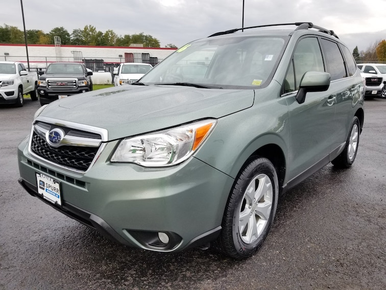 Used 2016 Subaru Forester 2.5i Limited SUV for sale in Brockport, NY at Spurr Subaru