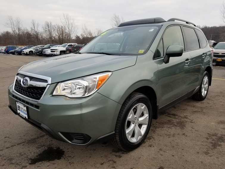 Used 2016 Subaru Forester 2.5i Premium SUV for sale in Brockport, NY at Spurr Subaru