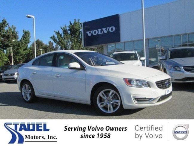 Certified 2014 Volvo S60 T5 Premier Sedan near Lancaster, PA