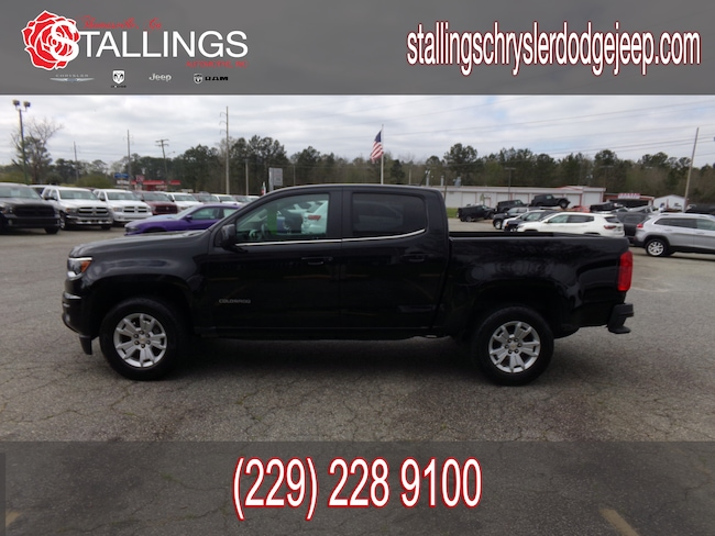 Used 2018 Chevrolet Colorado LT Truck Crew Cab for sale in Cairo, GA at Stallings Motors