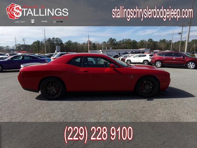 Used 2015 Dodge Challenger SRT Hellcat Coupe in Thomasville, GA