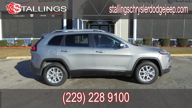 Certified Pre-Owned 2018 Jeep Cherokee Latitude 4x4 SUV in Thomasville, GA