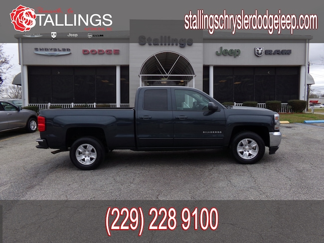 Used 2018 Chevrolet Silverado 1500 LT w/1LT Truck Double Cab for sale in Cairo, GA at Stallings Motors