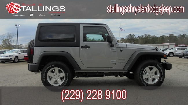 Used 2017 Jeep Wrangler Sport 4x4 SUV for sale in Cairo, GA at Stallings Motors