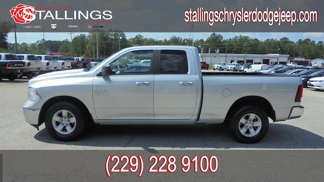 New 2018 Ram 1500 EXPRESS QUAD CAB 4X2 6'4 BOX Quad Cab for sale in Cairo, GA at Stallings Motors